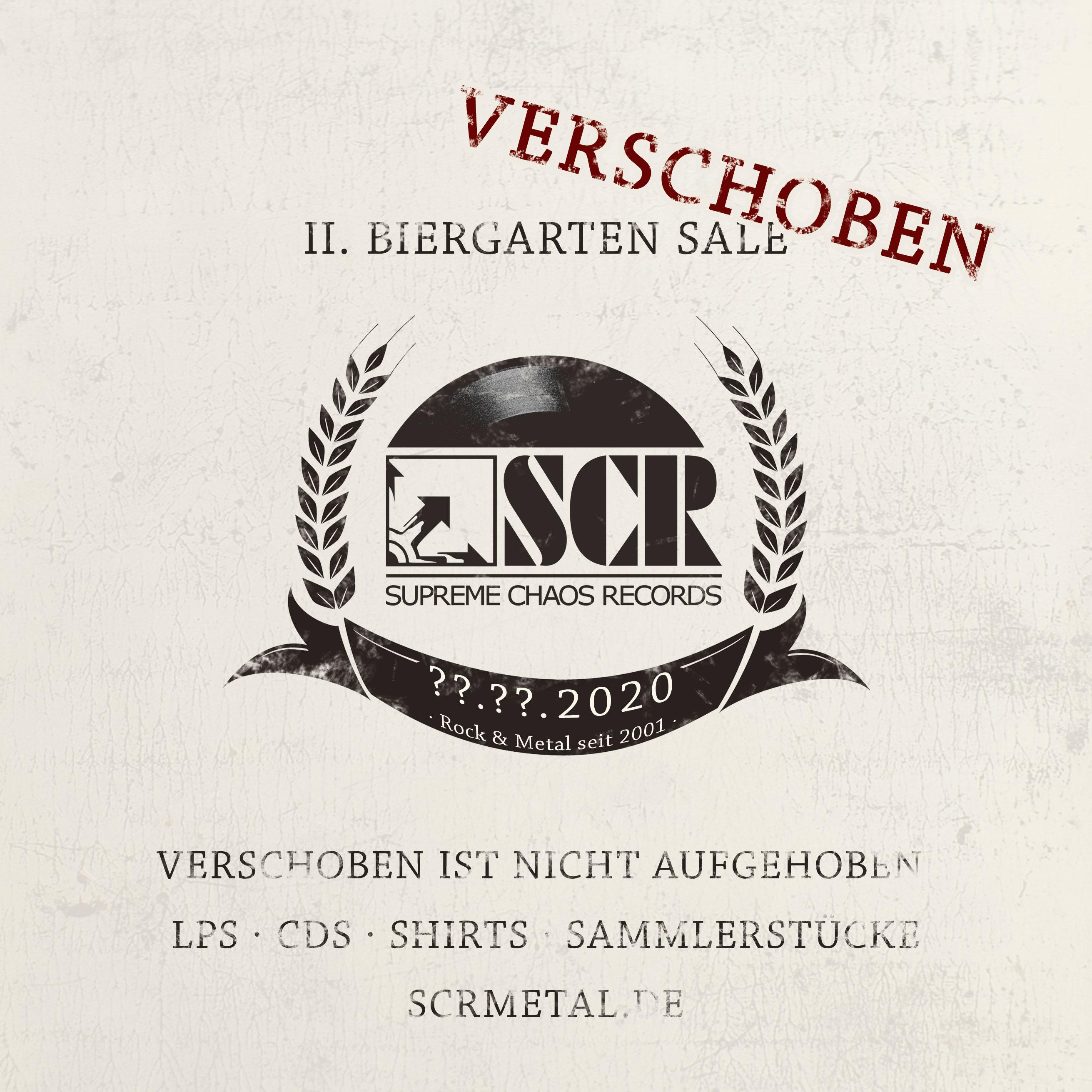 SCR Biergarten Sale 2