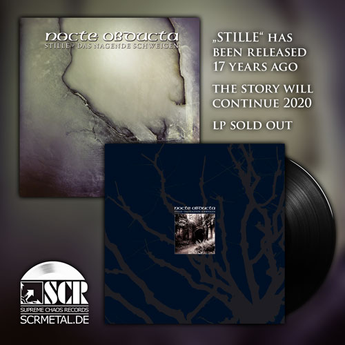 Nocte Obducta Stille has been released 17 years ago