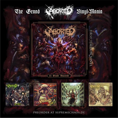 Aborted La Grand Mascarade Vinyl