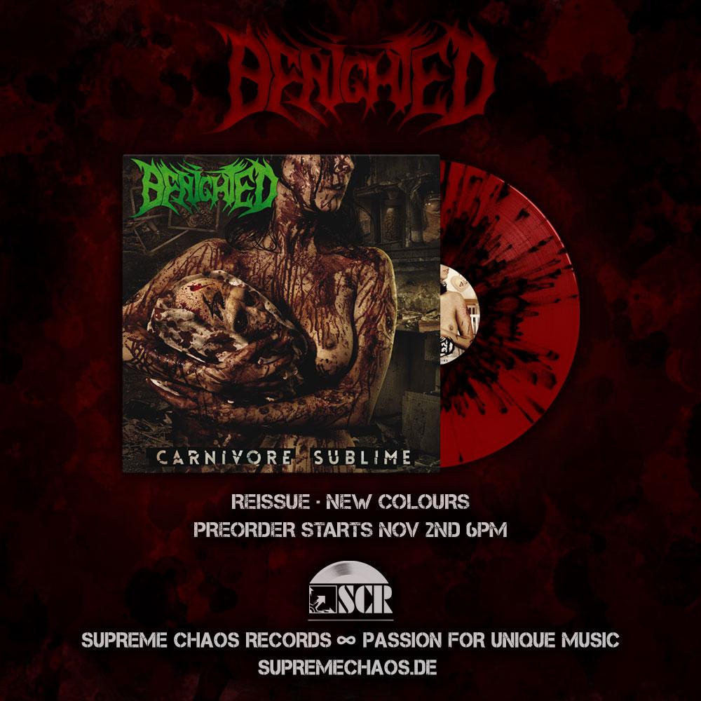 Benighted Carnivore Sublime Vinyl Rereleas