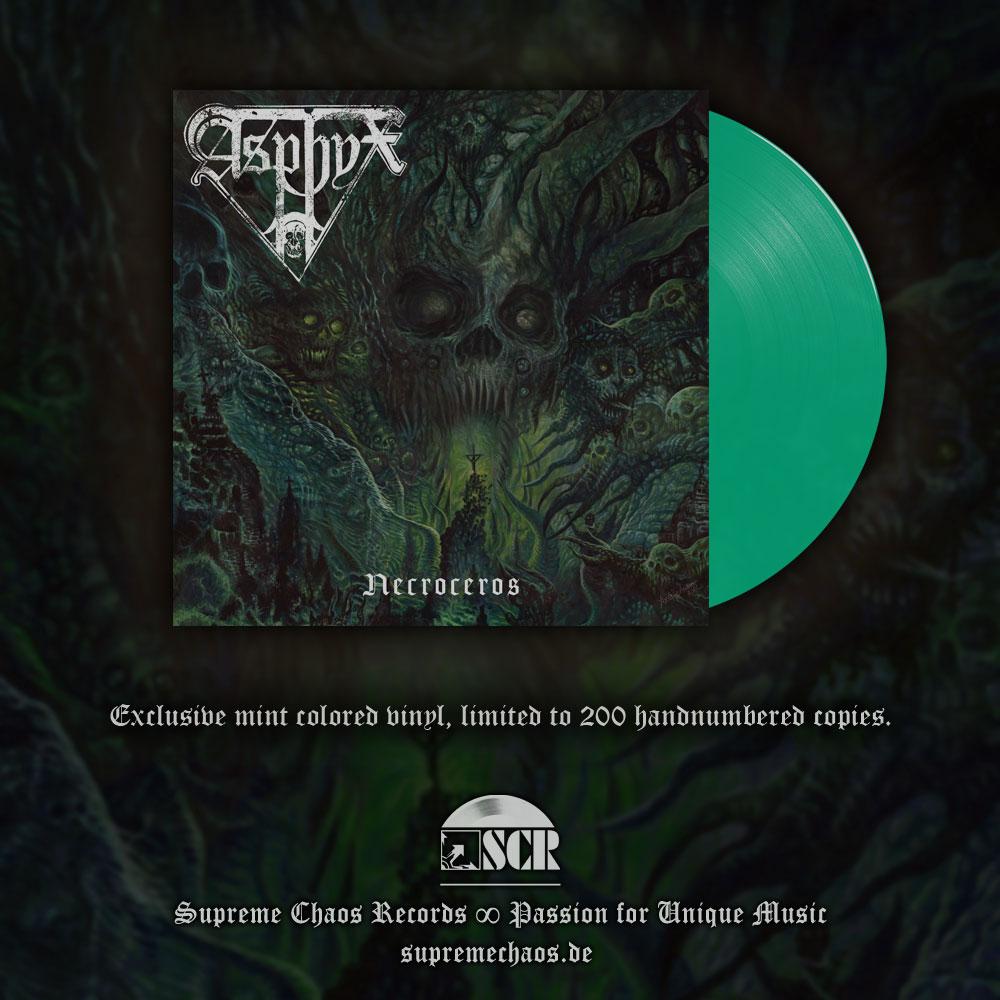 Asphyx - Necroceros Mint Grünes Vinyl