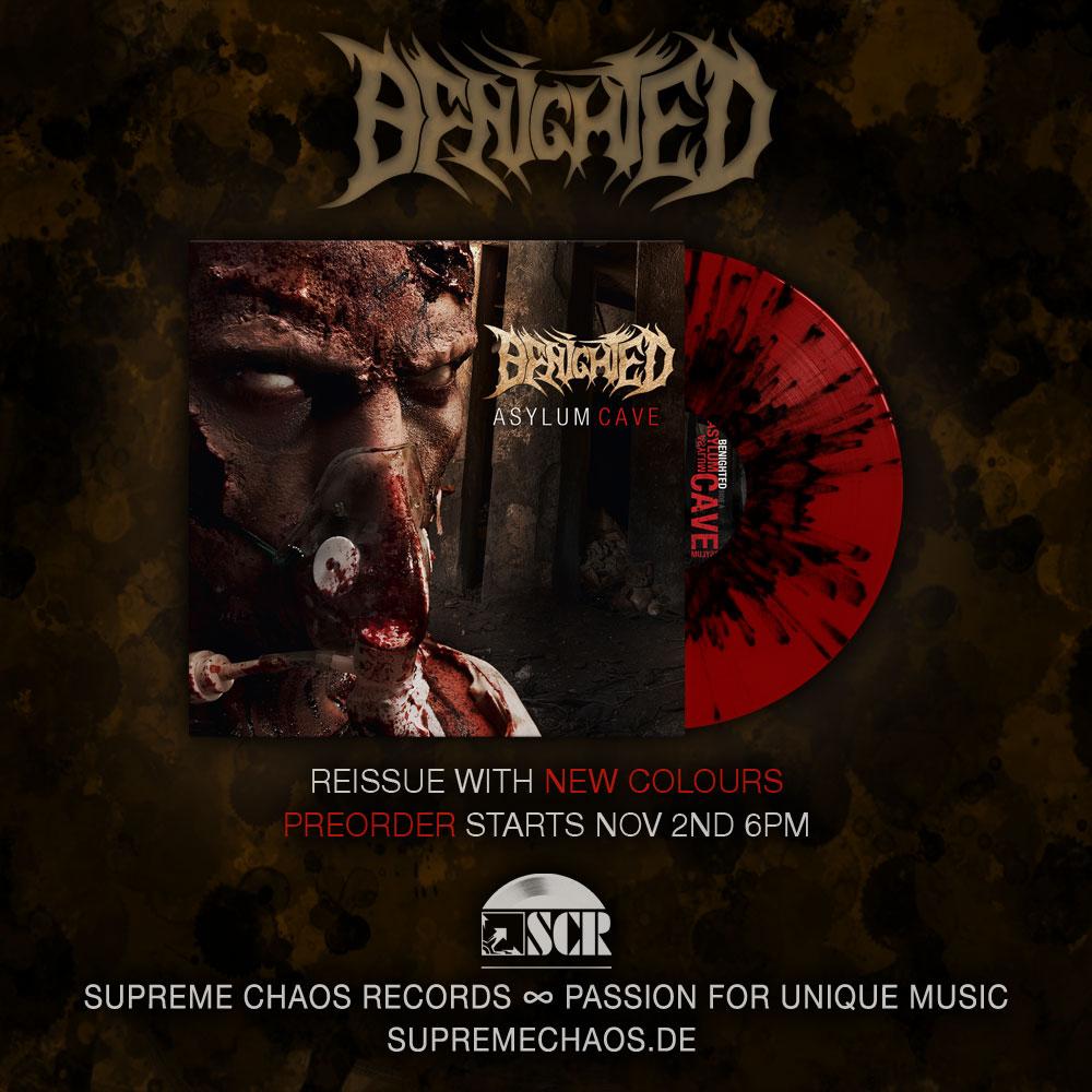 Benighted Asylum Cave Vinyl Neuauflage