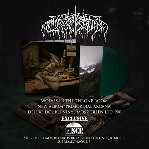 Wolves In The Throne Room - Primordial Arcana exclusive vinyl