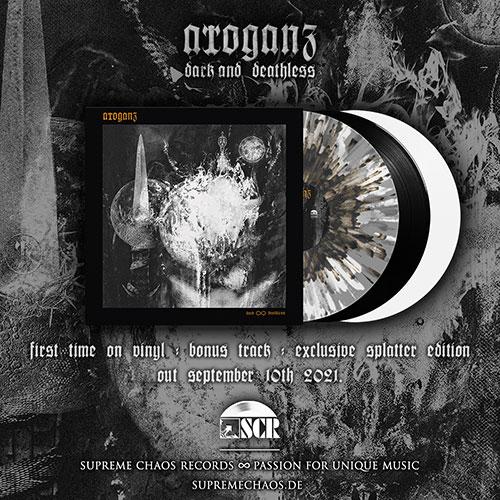 Arroganz to release 'dark and deathless' on vinyl.
