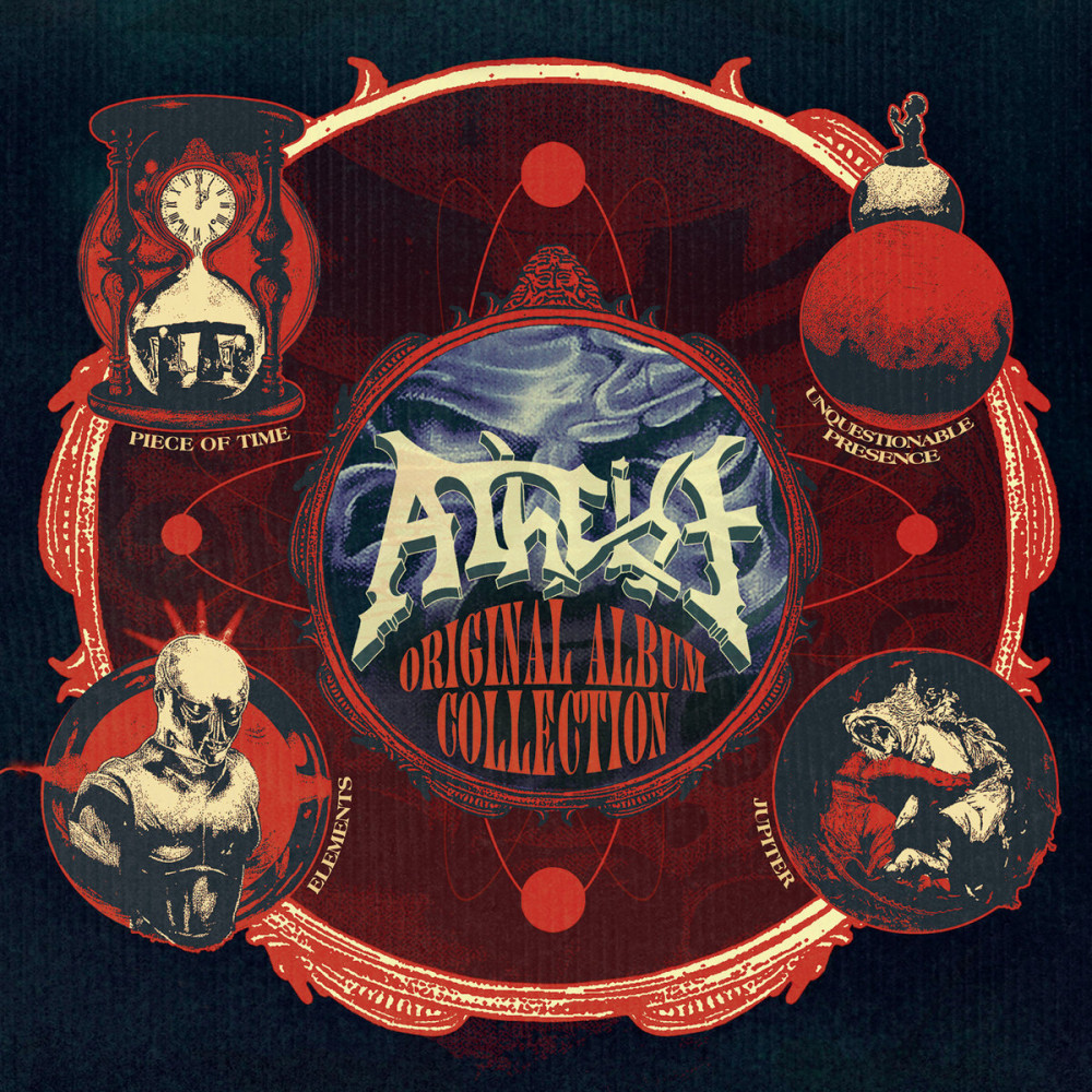ATHEIST - Original Album Collection [4-CD BOX] (BOXCD)