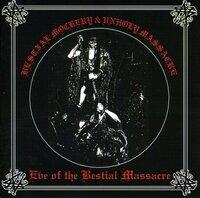 BESTIAL MOCKERY / UNHOLY MASSACRE - Eve Of The Bestial Massacre - Split (CD)