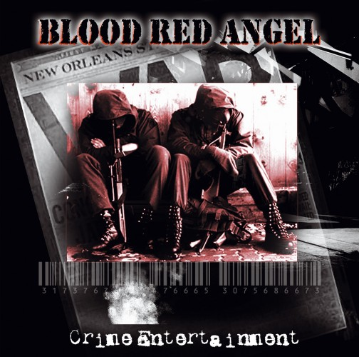 BLOOD RED ANGEL - Crime Entertainment (CD)
