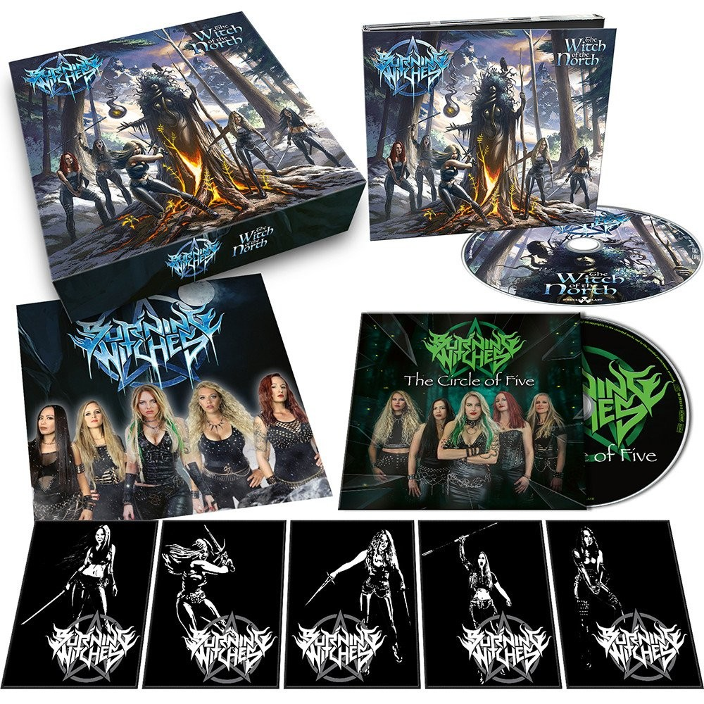 BURNING WITCHES - The Witch Of The North [CDBOX] (BOXCD)