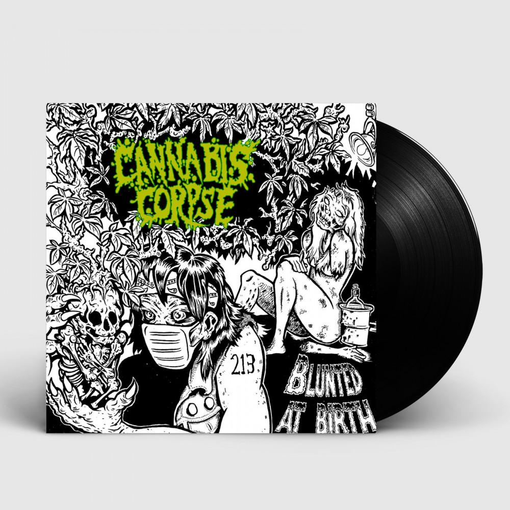 CANNABIS CORPSE - Blunted At Birth [BLACK] (LP)