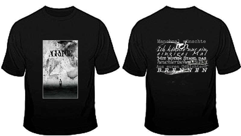 AGRYPNIE - 16[485] Cover TS (T-Shirt XL)
