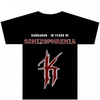 KARKADAN - 10 Years of Schizophrenia (T-Shirt M)