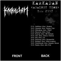 KARKADAN - Against Time Tour 2007 (T-Shirt XL)