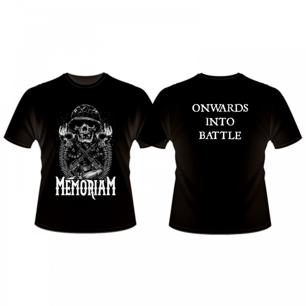 MEMORIAM - Onwards Into Battle Shirt (TS-XXL)