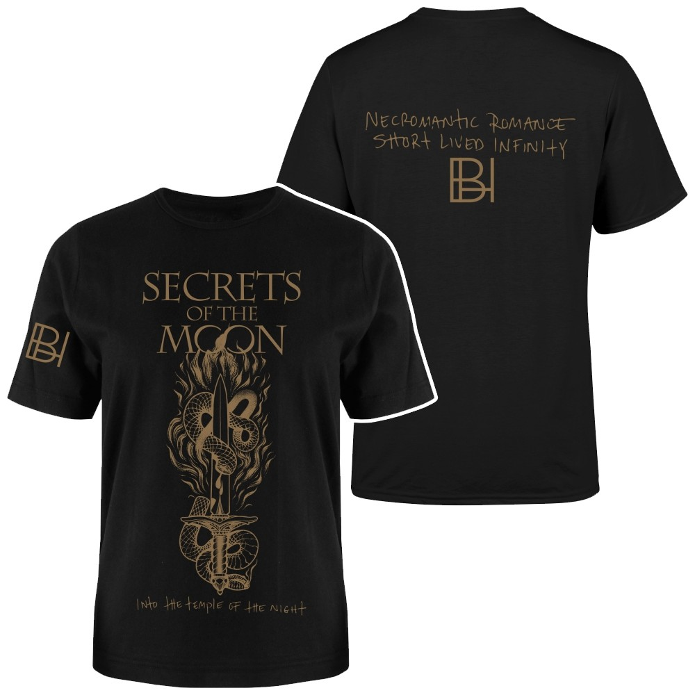 SECRETS OF THE MOON - Into The Temple Of The Night T-Shirt (TS-M)