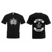 SUPREME CHAOS RECORDS - 20 Years of Chaos - Chaos Crew Member Shirt (TS-M)
