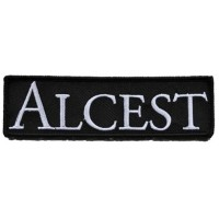 ALCEST - Logo (PATCH)