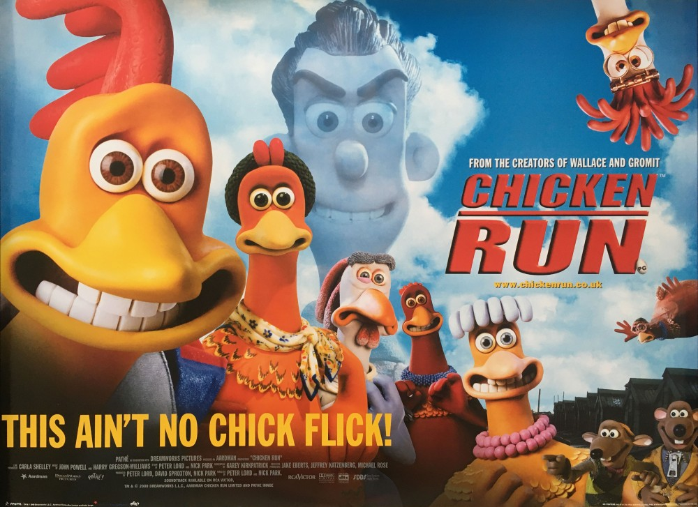 CHICKEN RUN - Film poster [FPO791] (POSTER)