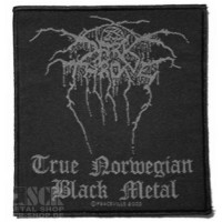 DARKTHRONE - True Norwegian Black Metal [Woven Patch] (PATCH)