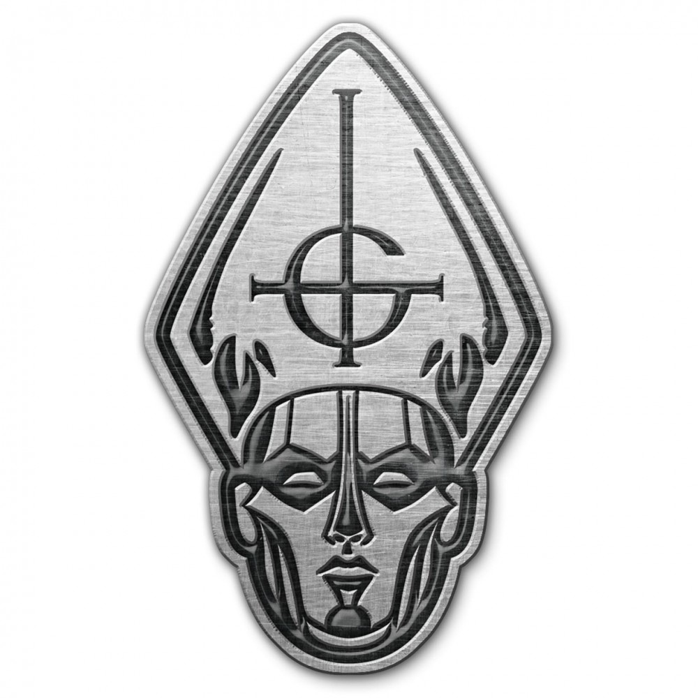 GHOST - Papa Head Metal Pin Badge (METALPIN)