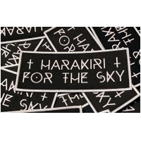HARAKIRI FOR THE SKY - White Logo Patch (PATCH)
