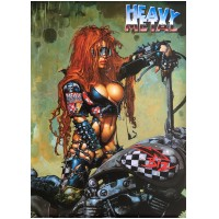 HEAVY METAL - Comic [PP0010] (POSTER)