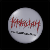 KARKADAN - Logo Button (Pin-Button)