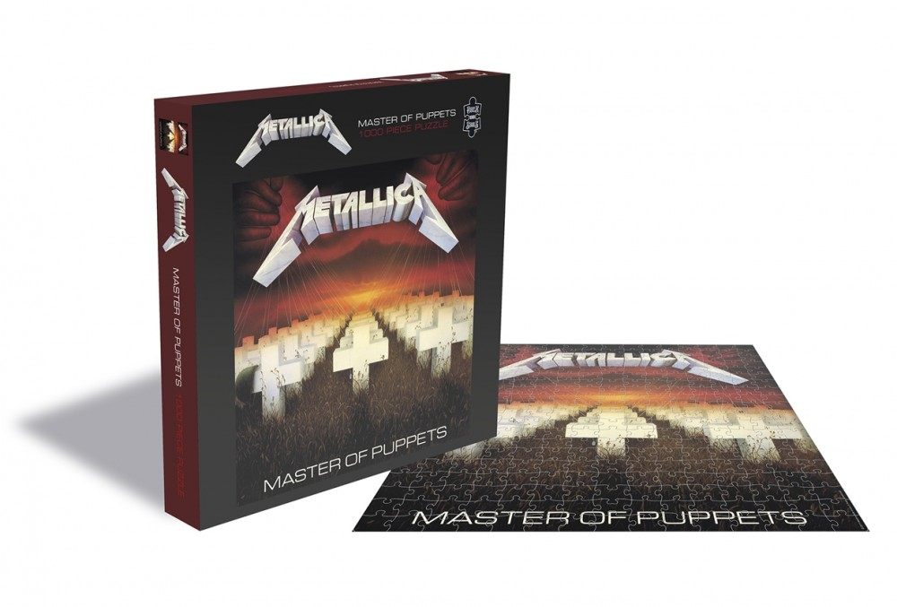 METALLICA - Master Of Puppets [1000 PIECES] (PUZZLE)