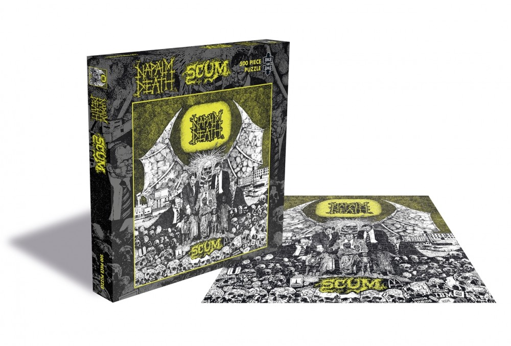 NAPALM DEATH - Scum [500 PIECES] (PUZZLE)