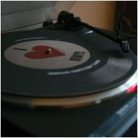 SCR METAL SHOP - I Love Vinyl (Slipmat)