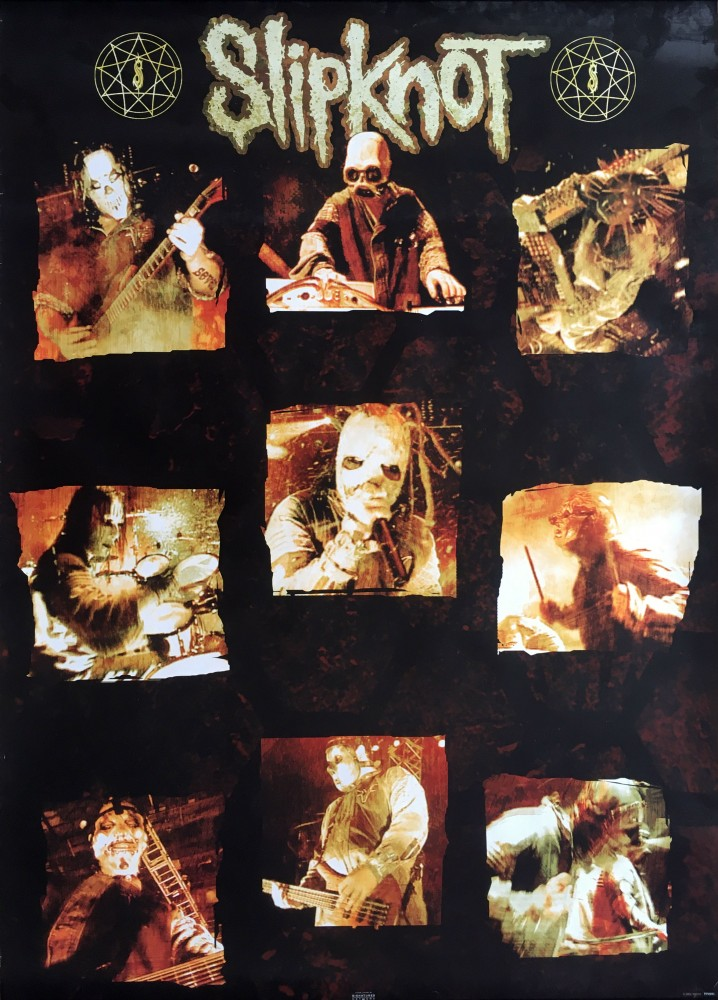 SLIPKNOT - Dirty Band Collage [PP0991] (POSTER)