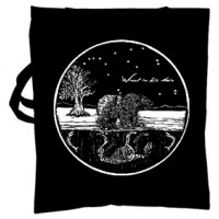 WIND IN HIS HAIR - Bear Circle TOTE BAG (BAG)