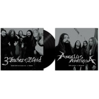 "3 INCHES OF BLOOD/ANGELUS APATRIDA - Split [Ltd.BLACK 7""] (EP)"