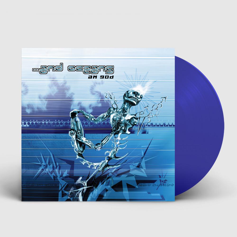 ...AND OCEANS - A.M.G.O.D [BLUE] (LP)