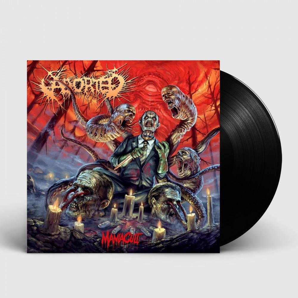 ABORTED - ManiaCult [BLACK LP+CD] (LP)