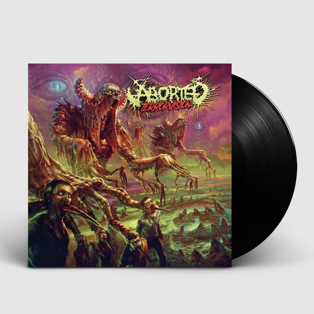 ABORTED - TerrorVision [BLACK LP+CD] (LP)