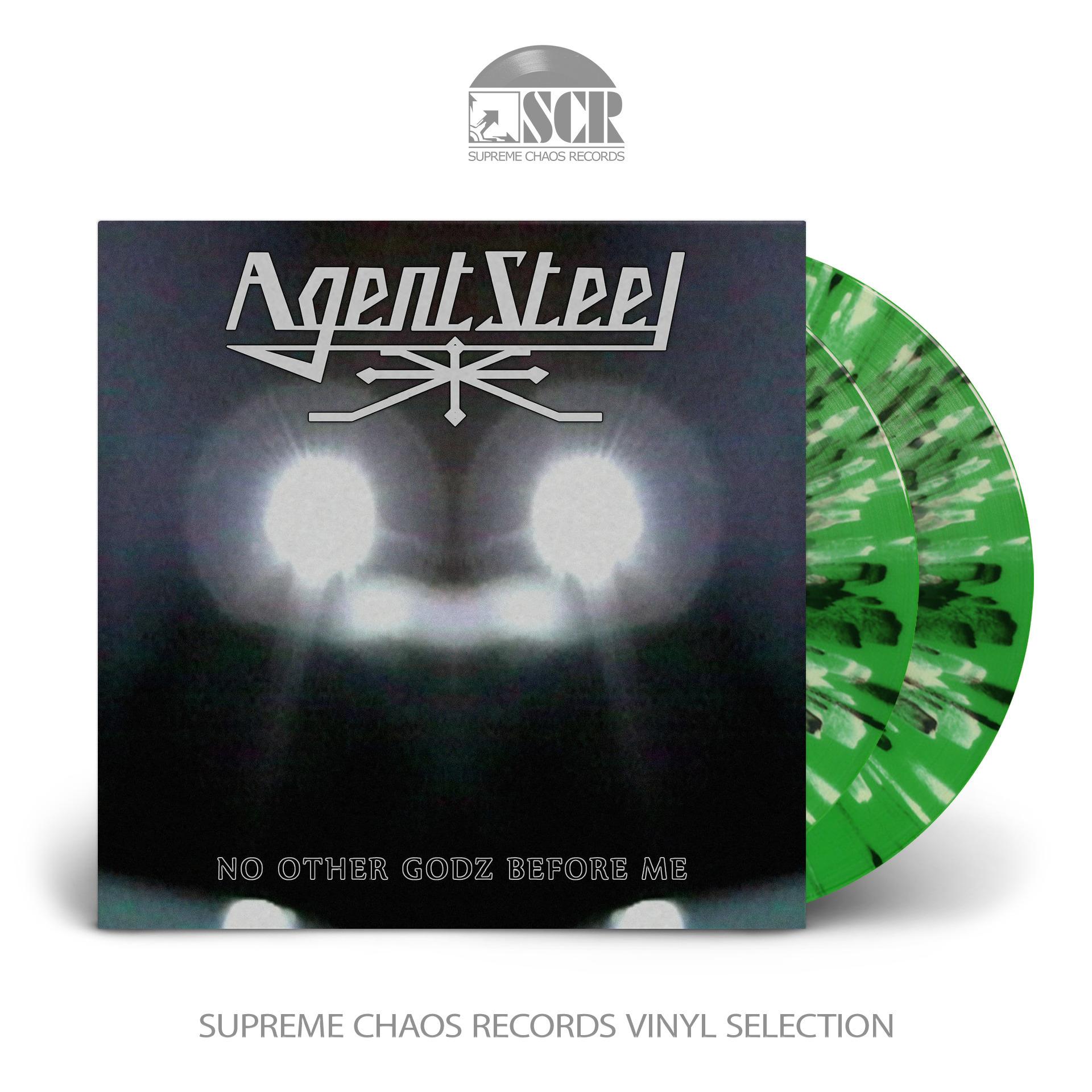 AGENT STEEL - No Other Godz Before Me [SPLATTER] (DLP)