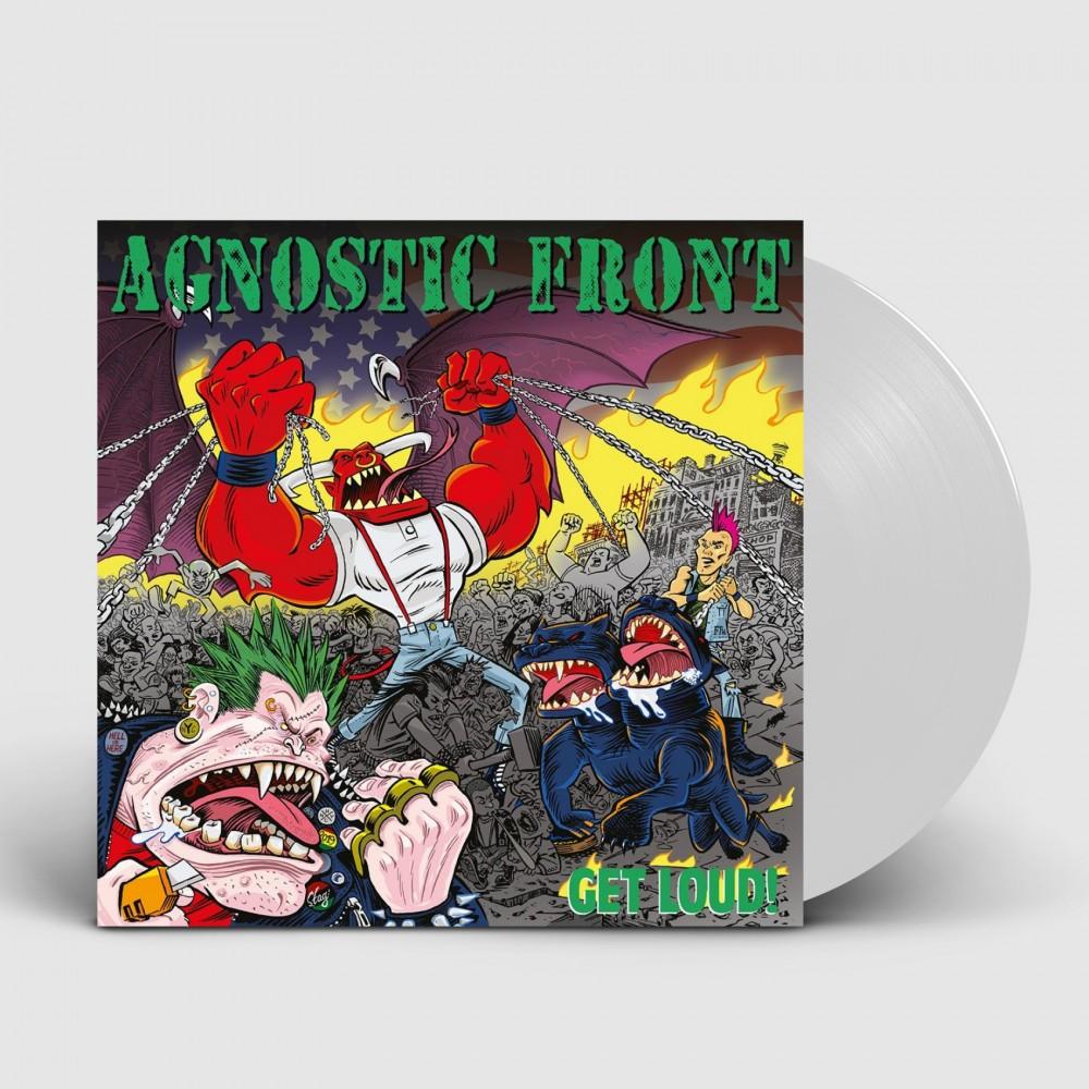 AGNOSTIC FRONT - Get loud! [WHITE] (LP)