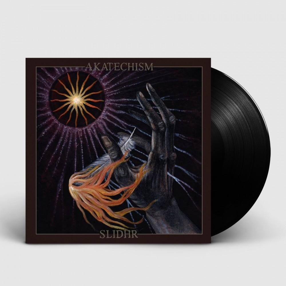 """AKATECHISM / SLIDHR - Amongst The Lost Light Of Misaligned Stars [BLACK 7""""] (EP)"""
