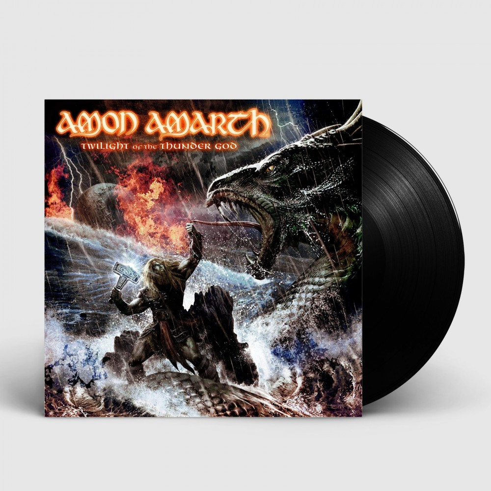 AMON AMARTH - Twilight Of The Thunder God [BLACK] (LP)