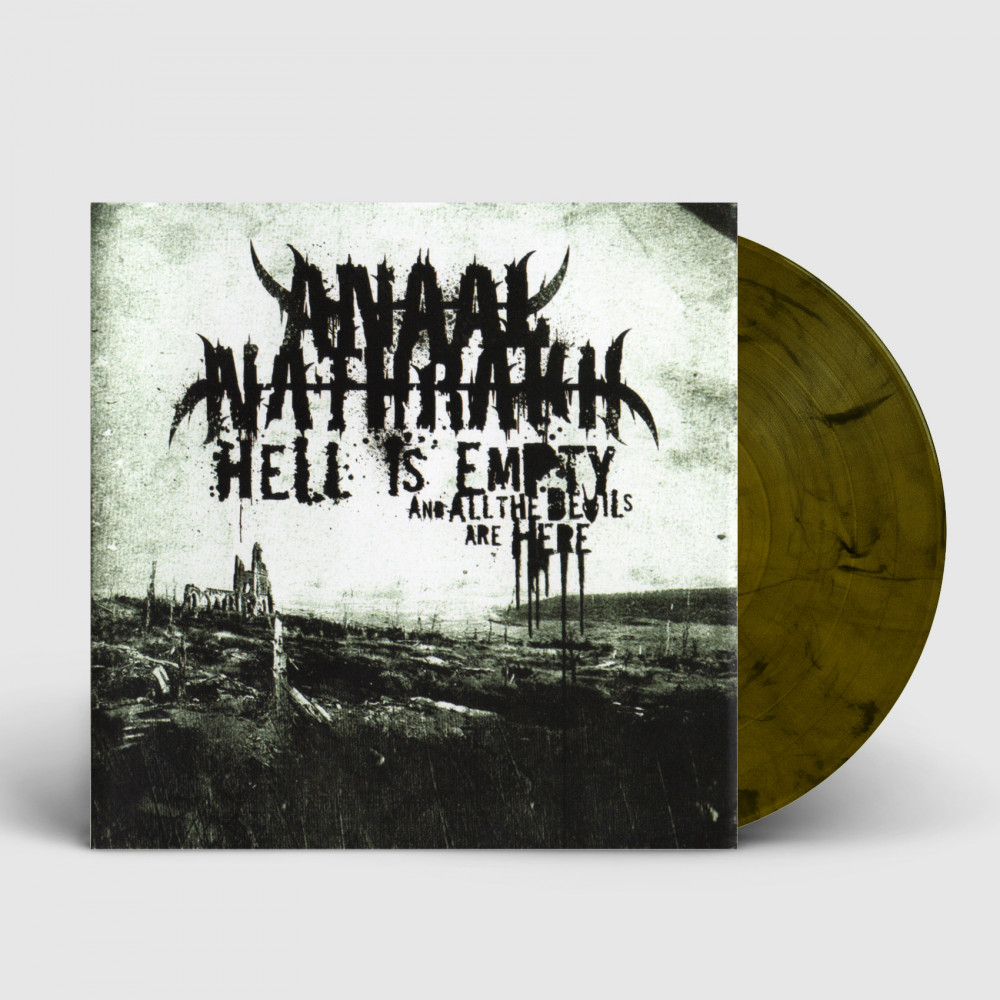 ANAAL NATHRAKH - Hell Is Empty And All The Devils Are Here [DARK OLIVE] (LP)