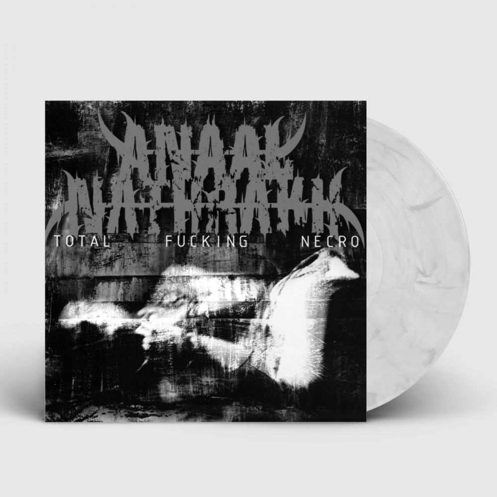 ANAAL NATHRAKH - Total Fucking Necro [WHITE/BLACK] (LP)
