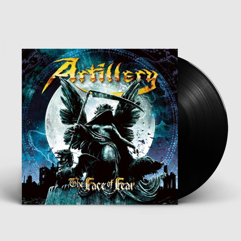 ARTILLERY - The Face Of Fear [BLACK] (LP)