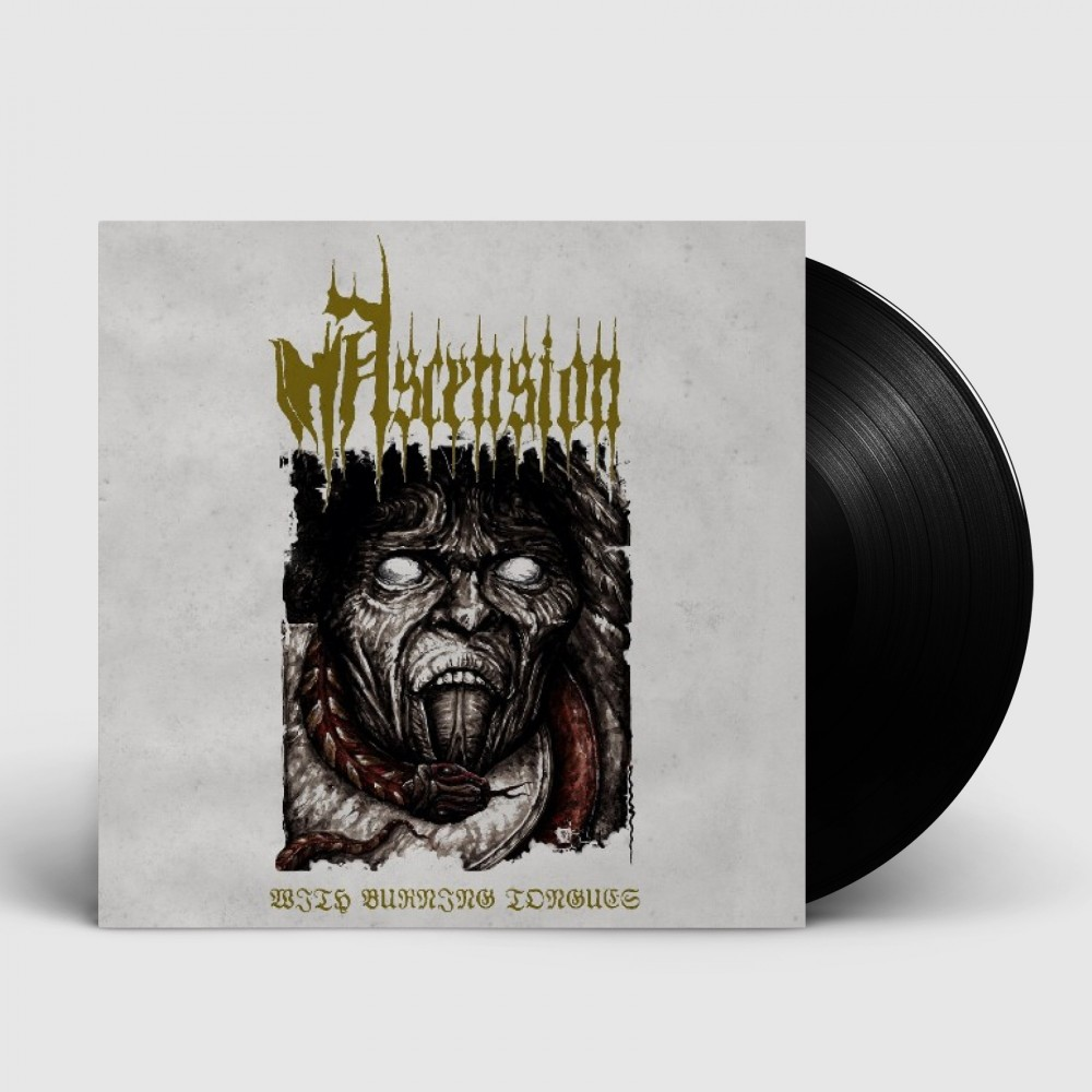 ASCENSION - With Burning Tongues [BLACK] (LP)