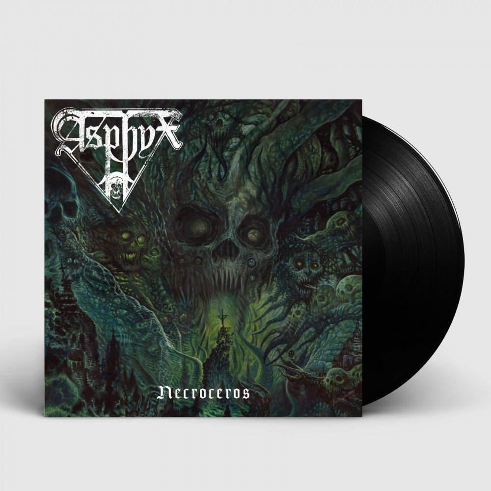 ASPHYX - Necroceros [BLACK] (LP)