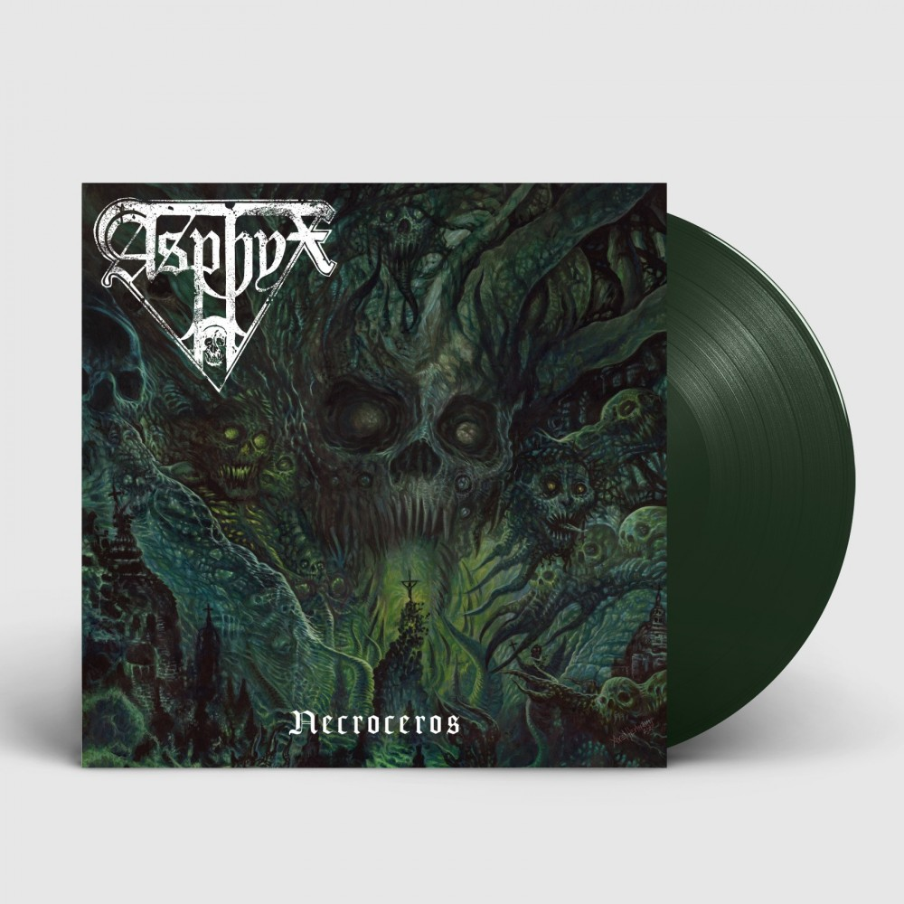 ASPHYX - Necroceros [DARK GREEN] (LP)