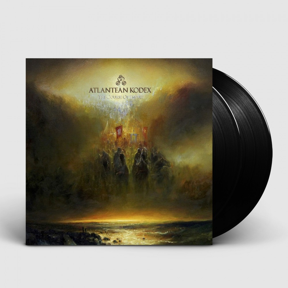 ATLANTEAN KODEX - The Course Of Empire [BLACK] (DLP)