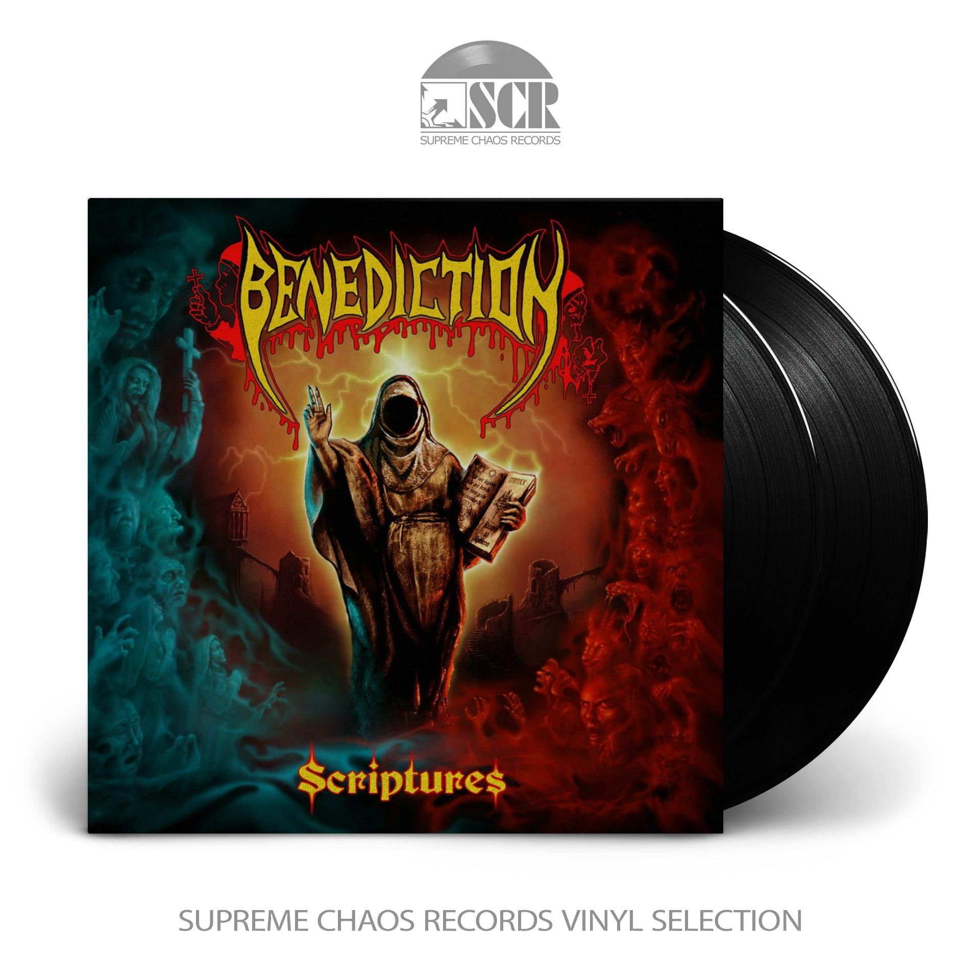 BENEDICTION - Scriptures [BLACK] (DLP)