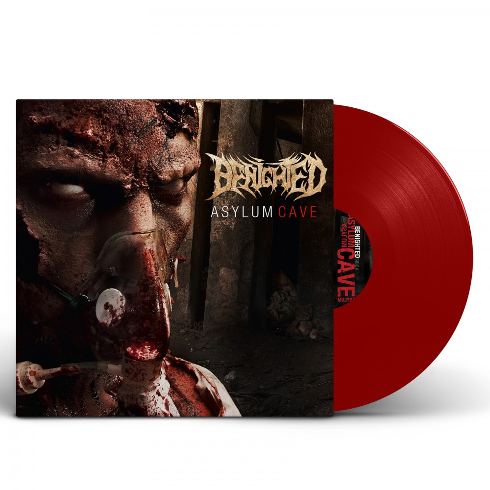 BENIGHTED - Asylum Cave [RED] (LP)