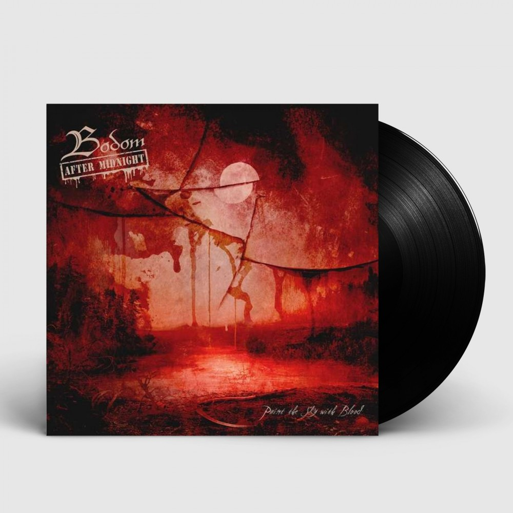 """BODOM AFTER MIDNIGHT - Paint The Sky With Blood [BLACK 10""""] (MLP)"""