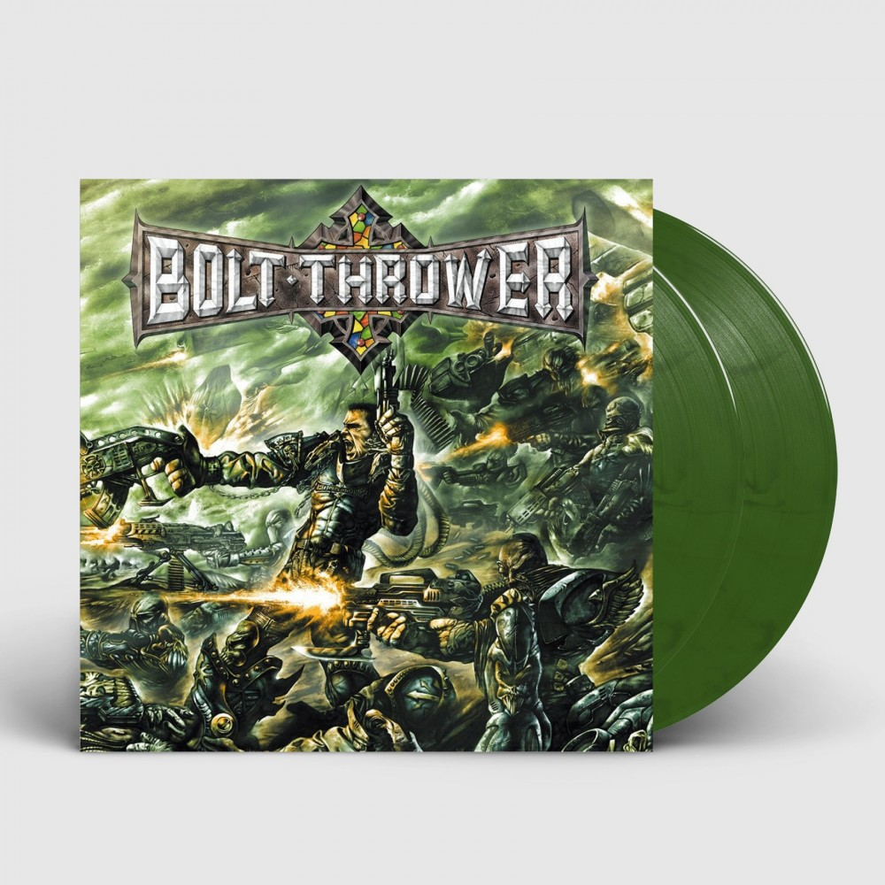 BOLT THROWER - Honour-Valour-Pride [GREEN] (DLP)